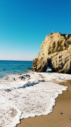 "El Matador State Beach (Malibu) - ""cave after cave"""