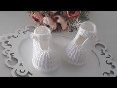 Booties Crochet, Crochet Baby Boots, Crochet Shoes, Crochet Clothes, Knit Crochet, Baby Slippers, Baby Socks, Baby Sandals, Baby Booties