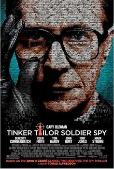 Tinker Taylor Soldier Spy = El Topo / dirigida por Tomas Alfredson. Con Gary Oldman, John Hurt...  Resérvala en nuestro catálogo: http://roble.unizar.es:2082/record=b1644468~S1*spi