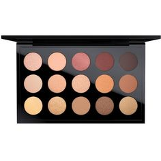 MAC Prefilled Pro Palette Eye X 15 ($65) ❤ liked on Polyvore featuring beauty products, makeup, eye makeup, eyeshadow, eyes, apparel & accessories, multicolored, mac cosmetics, palette eyeshadow and mac cosmetics eyeshadow