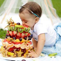 Smash the Fruit: 30 fotos irresistíveis de bebês com frutas