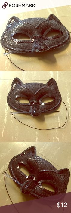 Cat Mask Cute dress up mask or to use with lingerie! Imagination is key Accessories Belts