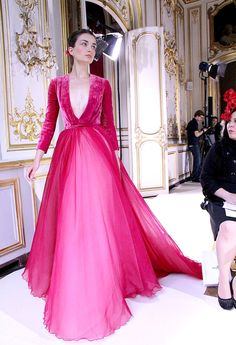 Georges Hobeika design - via Zsa Zsa Bellagio. - The dress Miss USA won the Miss Universe Pageant in?