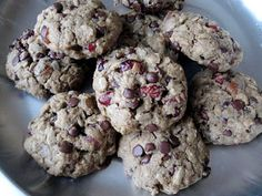 Fruit and Seed Trailmix Cookie Recipe (vegan)