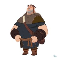personal project - robin hood on Behance Character Design Animation, Character Design References, Character Creation, Game Character, Character Concept, Male Cartoon Characters, Fantasy Characters, Manga Anime, Environment Concept Art
