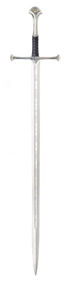 Aragon's sword, Narsil.