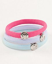 Lululemon Hair Ties... Insanely overpriced, but cute!