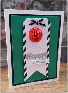 Turning tags into cards. Birthday Bright Project Kit from Stampin' Up! www.midmostamping.com
