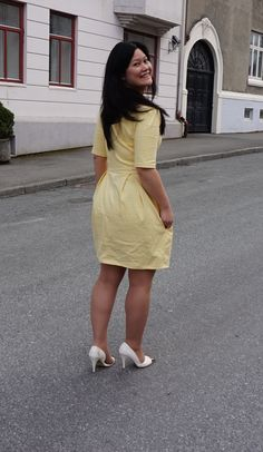 Yellow Elisalex Dress, from by Hand London made by me Sophie
