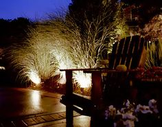 Highlight various areas of your garden with our lighting products.