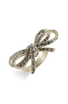 MARC BY MARC JACOBS 'Bianca Bows' Ring $68