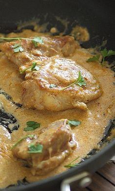 Five spice cream cheese chicken | chicken dinner recipe