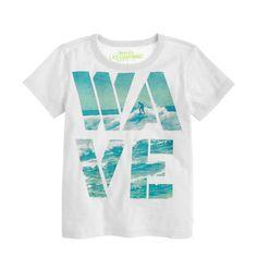Boys' wave tee : graphic tees | J.Crew