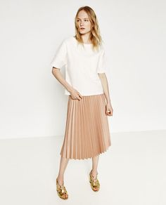 Image 1 of TECHNICAL FABRIC SHIRT from Zara