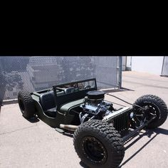 Willys Rat Rod. Cool jeep