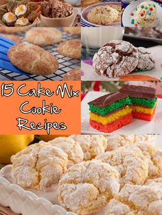 Grab that box of cake mix in your pantry. Cake mix cookies are even softer than regular cookies, and when they're fresh from the oven, boy are they irresistible! Check out these 15 unbelievable cake mix recipes.