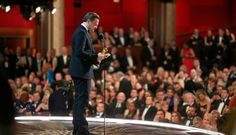 6-time nominated actor finally receives Oscar and gives speech about climate change:  Leonardo DiCaprio's Oscar acceptance speech was certainly one for the record books.  After six previous Academy Award nominations, DiCaprio finally took home the 2016 Oscar for Best Actor in a Leading Role.