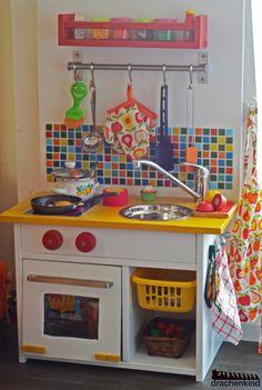 Kinderkeukentje maken