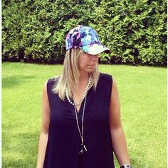 @whowhatwear wardrobe summer challenge #Day30 : Top off your outfit with a stylish baseball cap ...  #wwwsummer30 #fashionandthecity #ootd #wiw #summerstyle #floral #trend #print #cap