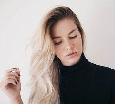 Hairflip 💁 #nellatornroos #blondehair #blondhair #darkroots #volume #hair