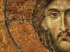 An ancient mosaic of Jesus Christ face Jesus Face, God Jesus, Jesus Christ, Savior, Memento Mori, Hagia Sophia Museum, Parables Of Jesus, Bible Quiz, Religion