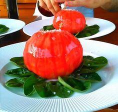 Esto es un tomate y lo demás tonterías no?