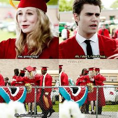 "997 To se mi líbí, 5 komentářů – The Vampire Diaries (@tvdslay) na Instagramu: ""{4x23 Graduation} Hahaha stefan ❤❤❤ - I hope this year tvd will get the chance to win an…"""