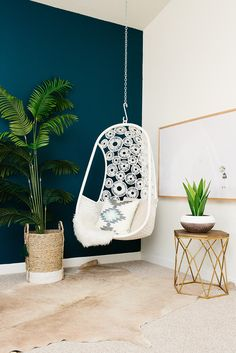 hanging chair -love!