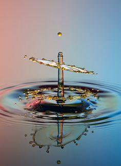 Water drop by Parminder Singh.