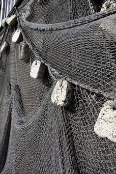 An old fishing net http://www.kotilablogi.blogspot.fi