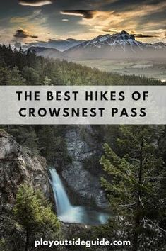 The Best Hikes of Crowsnest Pass, Alberta Hiking Photography, Nature Photography, Landscape Photography, Photography Ideas, Alberta Travel, Banff Alberta, Alberta Canada, Summer Vacation Spots, Greece Vacation