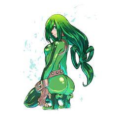 Asui tsuyu (tsuyu asui) :: boku no hero academia :: anime ar Girls Anime, Kawaii Anime Girl, Anime Art Girl, Manga Art, My Hero Academia Tsuyu, Buko No Hero Academia, My Hero Academia Manga, Sucubus Anime, Anime Comics
