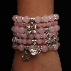 ручная работа Arm Bracelets, Cute Bracelets, Handmade Bracelets, Handcrafted Jewelry, Jewelry Bracelets, Beaded Jewelry, Beaded Necklace, Jewellery, Bracelet Making