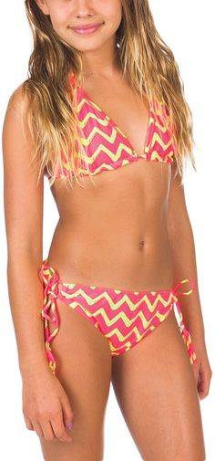 c5fd129b03 Billabong Suri 2pc Set - Black - Y2051SUR | Billabong Billabong kids bathing  suit $46 Bikinis