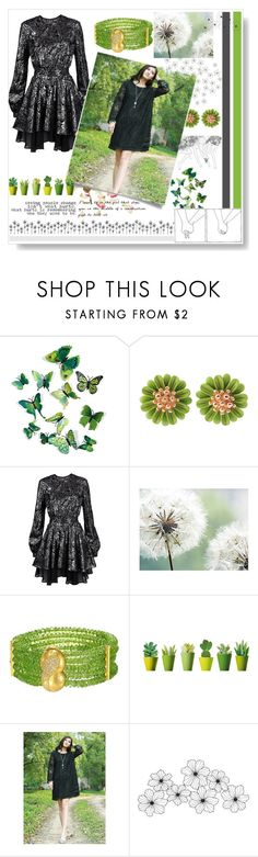 """""""9:30 walk in the park"""" by alongcametwiggy ❤ liked on Polyvore featuring WithChic, Just Cavalli, Mon Cheri and WALL"""