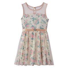 Disney's Cinderella Floral Sparkle Dress - Girls 7-16