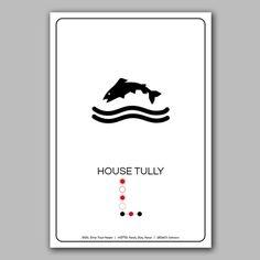 Geek Art Gallery: Posters: Game of Thrones House Designs
