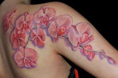 orchid tattoo - Buscar con Google