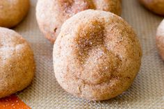 Soft & Thick Snickerdoodles. (in 20 minutes!)