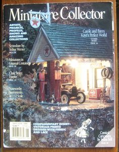Miniature Collector Magazine Summer May, June 1996 Back Issue Visit ivanhoe.ecrater.com. the ebay alternative for great deals. If you are not buying from me, you are probably paying too much! Dare to Compare..........Shop Ecrater.com