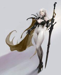 ArtStation - black knight, Bangku An