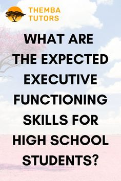 Problems with executive functioning can manifest as soon as students begin attending school. Does your child struggle with the following: 👉 Why does my child take so much time to do homework? 👉 How can I help my child calm down? 👉 How can I reduce my child's temper tantrums? 👉 How can I help my child become more organized? 👉 Why does my child often forget to do homework? Our Executive function coaches are ready to help you! Call: (917) 382-8641, Text: (833) 565-2370 info@thembatutors.com