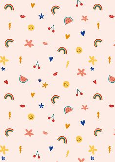 A free sticker book-themed wallpaper for your desktop, phone or tablet