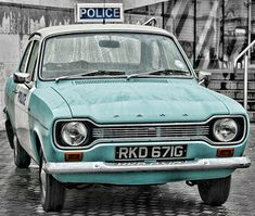 Vintage Police car   Flickr - Photo Sharing!