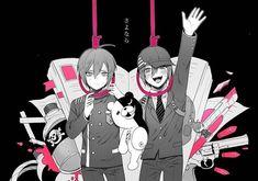 Hey everyone! This is my & last book i published & it will be filled with all the danganronpa ships in all danganronpa games/animes! New Danganronpa V3, Danganronpa Characters, Anime Characters, Welcome To Reality, Ouma Kokichi, Trigger Happy Havoc, Nagito Komaeda, Emo Boys, Anime Kawaii