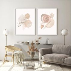Contemporary Abstract Neutral Art Print Set of Two - neutral | beige | blush| ivory A minimal modern brushstroke art print 2 piece set in lovely shades of beige, cream & blush. This original abstract artwork works as both a statement piece or as part of a gallery wall. This print is great displayed