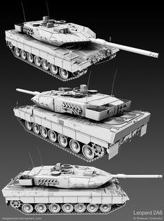 Leopard 2 Tank by ~MeganeRid on deviantART