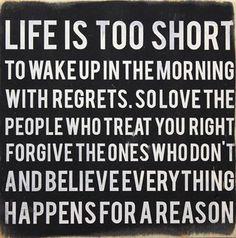 No regrets... so true #quotes
