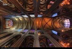 #architecture #photography #cathedral Le plafond de la cathédrale by Girolamo Cracchiolo | 500px Prime