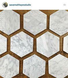 Carrara marble coasters, Savannah Hayes Studio